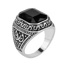 Load image into Gallery viewer, Black Stone Ring