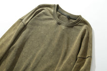 Load image into Gallery viewer, Distressed Sweatshirt, Khaki