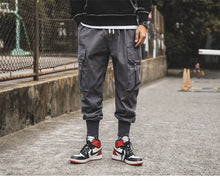 Load image into Gallery viewer, LUCK Cargo Pants, Grey