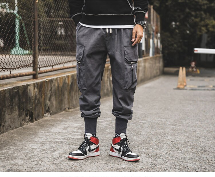 LUCK Cargo Pants, Grey