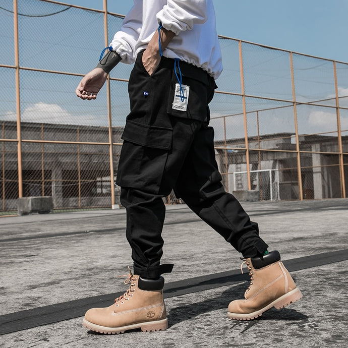 DOCK Cargo Pants, Black