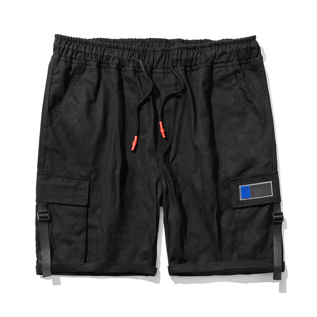 TIDE Cargo Shorts, Black