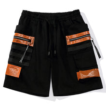 Load image into Gallery viewer, SPACE Cargo Shorts, Black