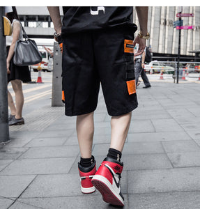 SPACE Cargo Shorts, Black