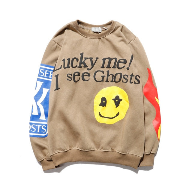 LUCKY GHOST Sweatshirt