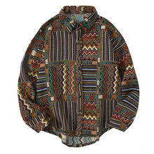 Load image into Gallery viewer, Geometric Long Sleeve Shirt