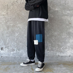 G09 Patch Joggers, Black