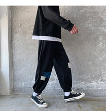 Load image into Gallery viewer, G09 Patch Joggers, Black