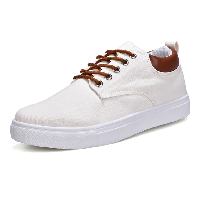 Canvas Sneakers in Cream