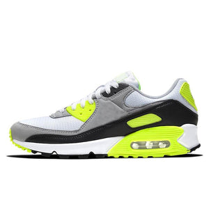 Panelled Running Trainer in Yellow