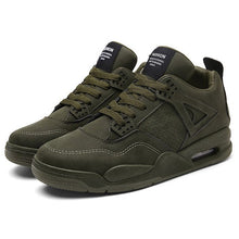 Load image into Gallery viewer, Multi Panel Trainers in Khaki