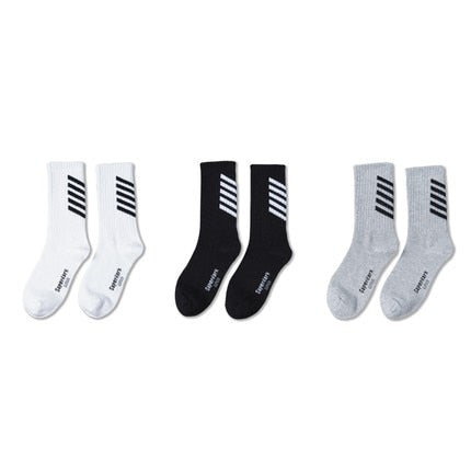 Pack of 3 Sports Socks, Mixed