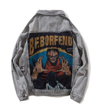 Load image into Gallery viewer, FEND Denim Jacket, Grey