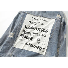 Load image into Gallery viewer, UNDER Denim Jacket