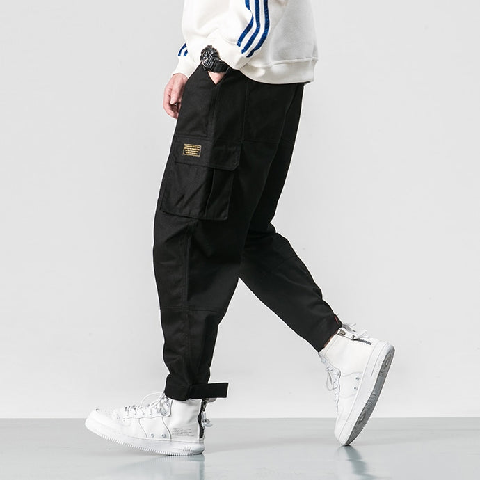 HP02 Cargo Pants, Black
