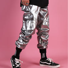 Load image into Gallery viewer, ZANE Cargo Pants, Metallic