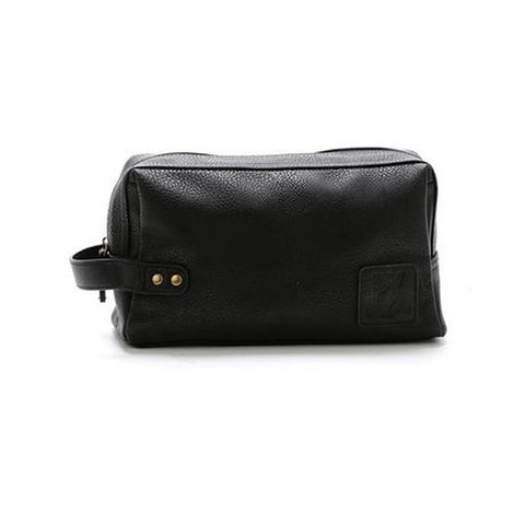 Black Fletcher Vegan Dopp Kit-Habitout