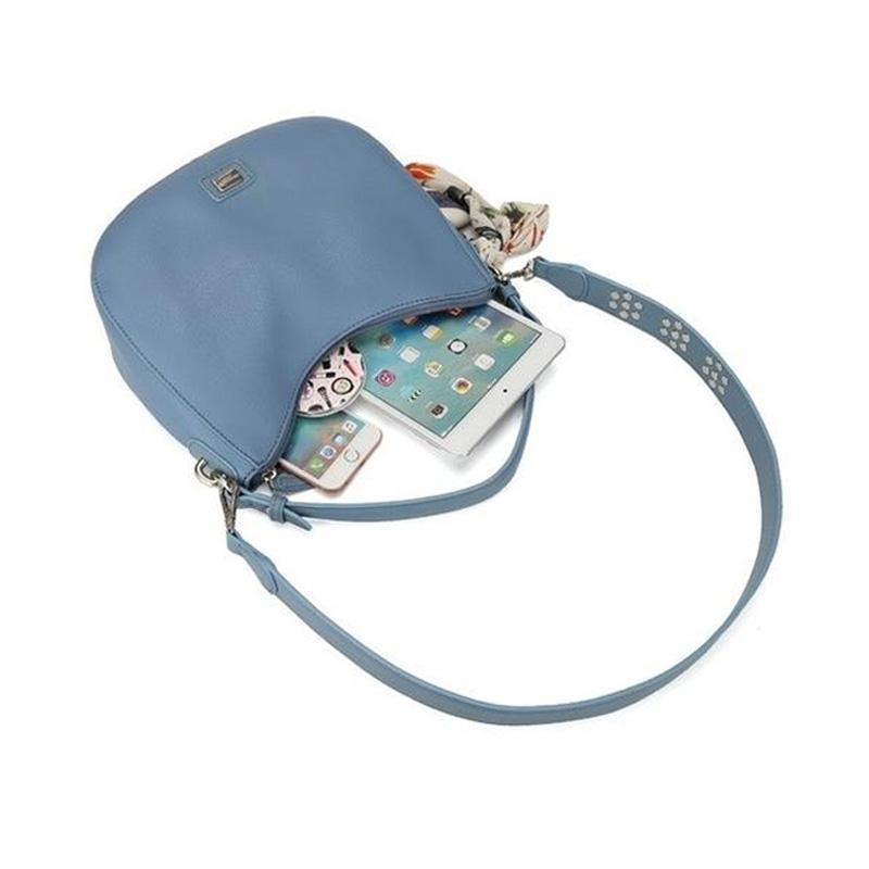 Crossbody Hobo Bag-Habitout