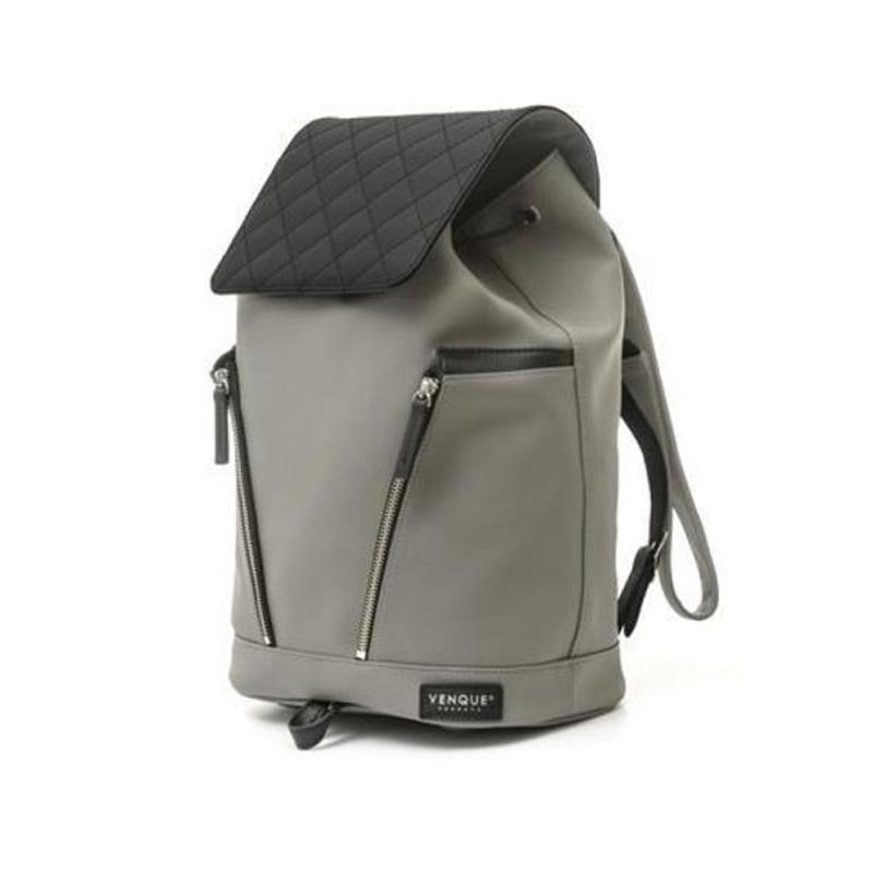 Diamond Mini Grey Backpack-Habitout
