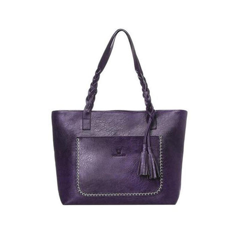 Luxury Designer Leather Handbag-Habitout