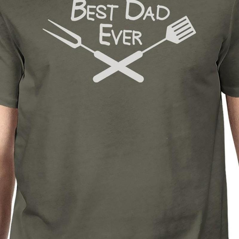 Men's Best Dad Ever BBQ T-Shirt-Habitout