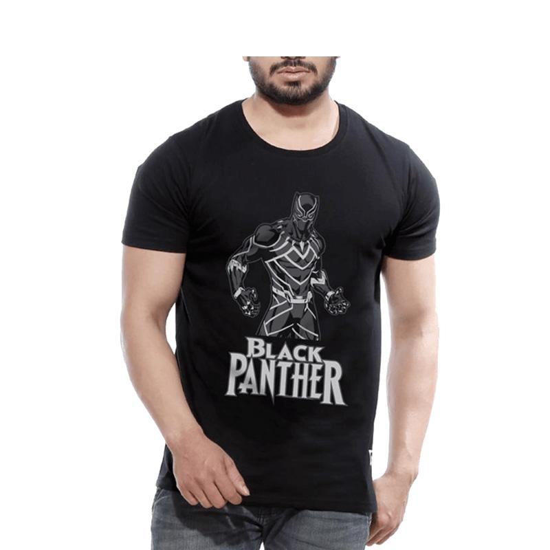 Men's King Of Wakanda Superhero T-shirt-Habitout