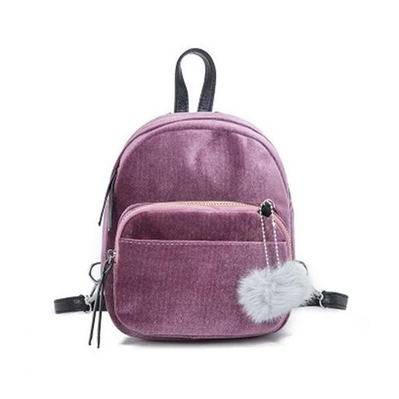 Mini Fur Ball Backpack-Habitout