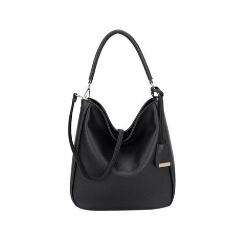Top Handle Hobo Shoulder Bag-Habitout