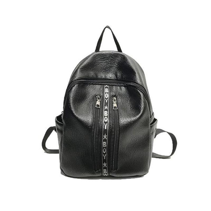 Vintage Slot Pocket Backpack-Habitout