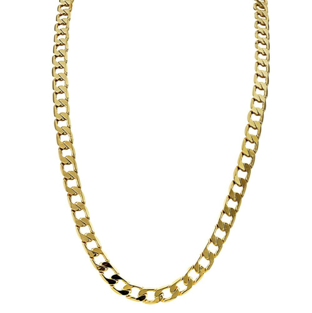 6mm Gold Cuban Chain Necklace-Chains-Bling King-24 inch-Bling King