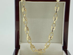Gold Tulip Chain - Blingkinguk