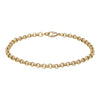 4mm Gold Diamond Cut Pattern Belcher Bracelet-Bracelets-sell4profituk-Bling King