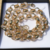 16mm XXL Gold Belcher Chain and Bracelet Set-Bracelets-Bling King-Bling King