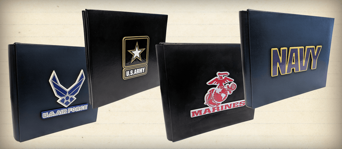 UNIFORMED® Keepsake Albums