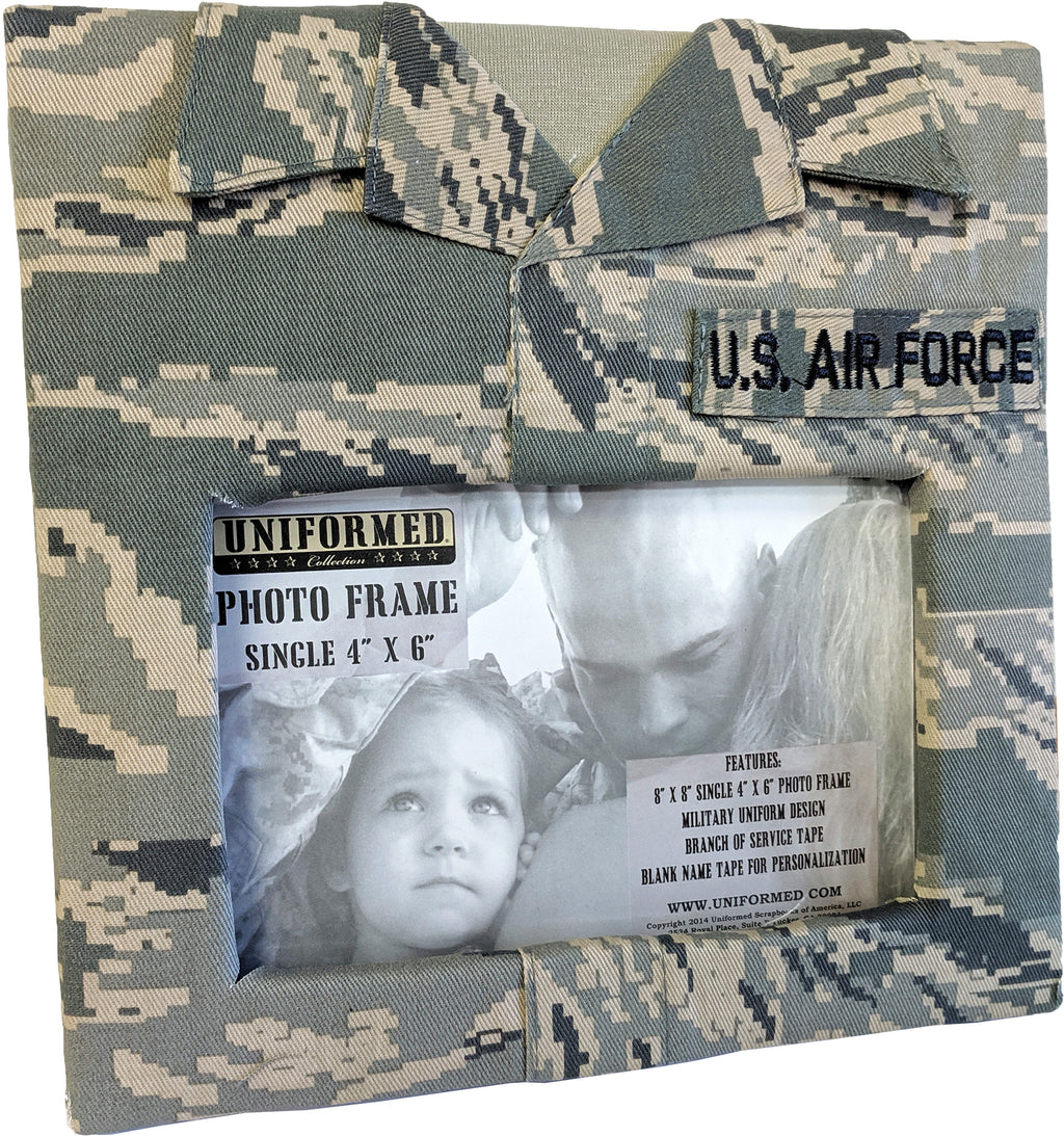 AIR FORCE SINGLE PICTURE FRAME - UNIFORMED®