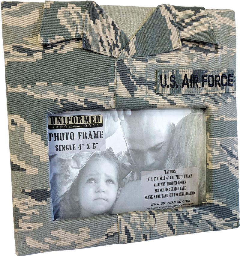 AIR FORCE SINGLE PICTURE FRAME