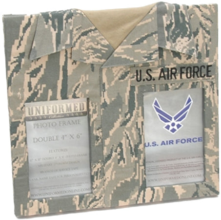 AIR FORCE DOUBLE PICTURE FRAME - UNIFORMED®