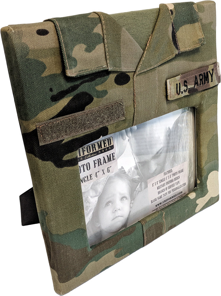 ARMY SINGLE PICTURE FRAME - UNIFORMED®