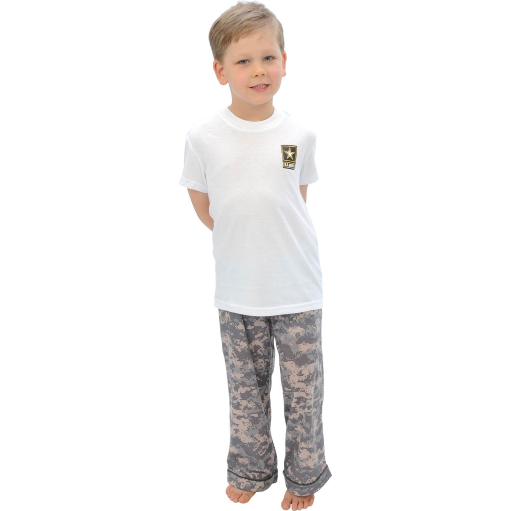 Uniformed Boys Lounge Set (Army) - UNIFORMED®