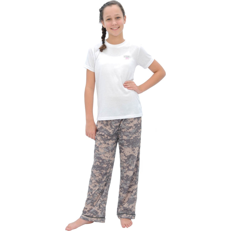 Uniformed Girls Lounge Set (Army) - UNIFORMED®