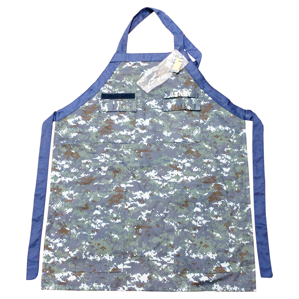 US NAVY BLUE DIGITAL APRON - UNIFORMED®
