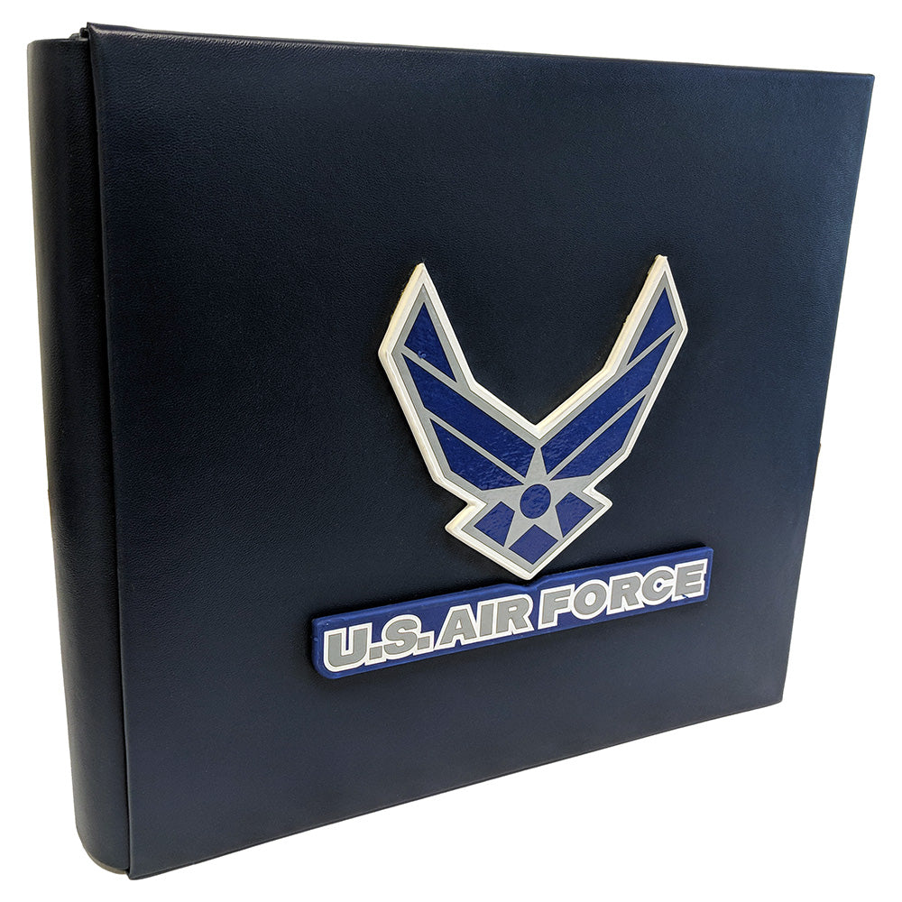 US AIR FORCE 8x8 ALBUM W/ 3D LOGO - UNIFORMED®