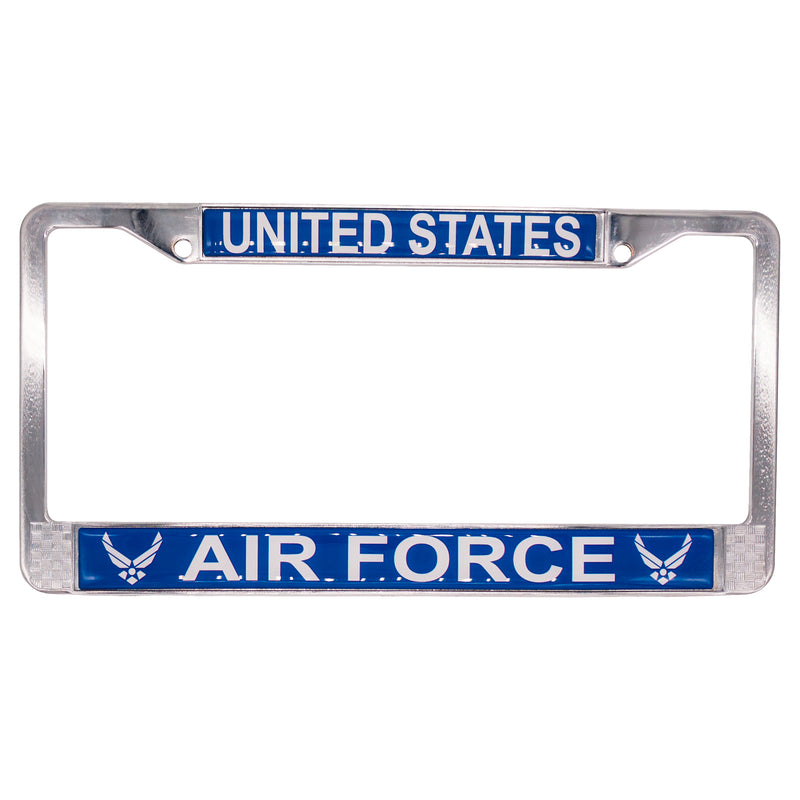 U.S. AIR FORCE LICENSE PLATE FRAME - UNIFORMED®