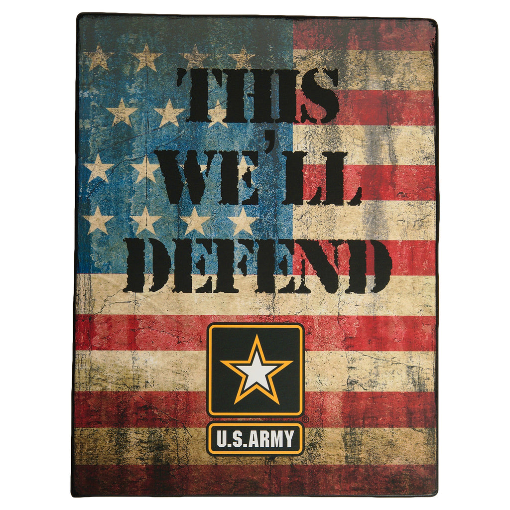 U.S. Army 13x10 This Well Defend Tin Sign - UNIFORMED®