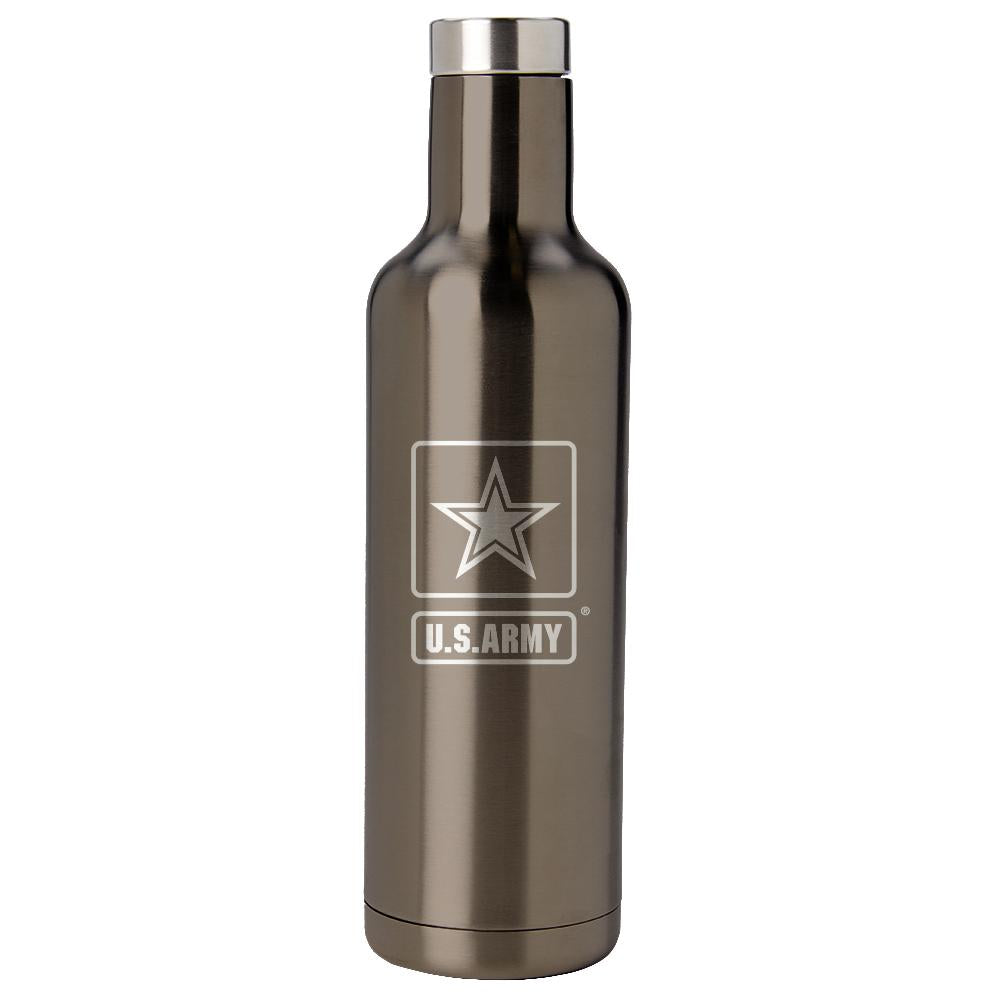 PURE Drinkware 25 oz Bottle - Army (Gunmetal) - UNIFORMED®