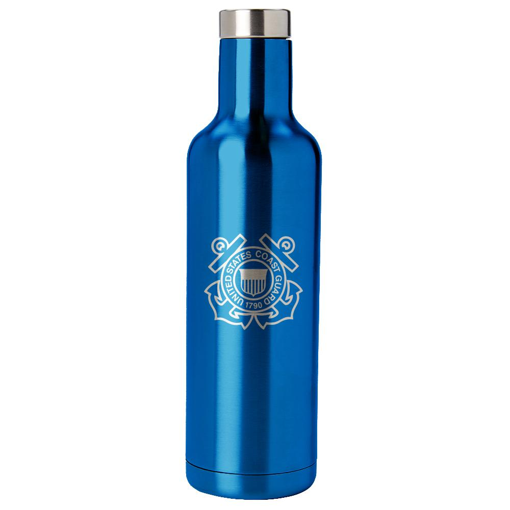 PURE Drinkware 25 oz Bottle - Coast Guard (Water Blue) - UNIFORMED®