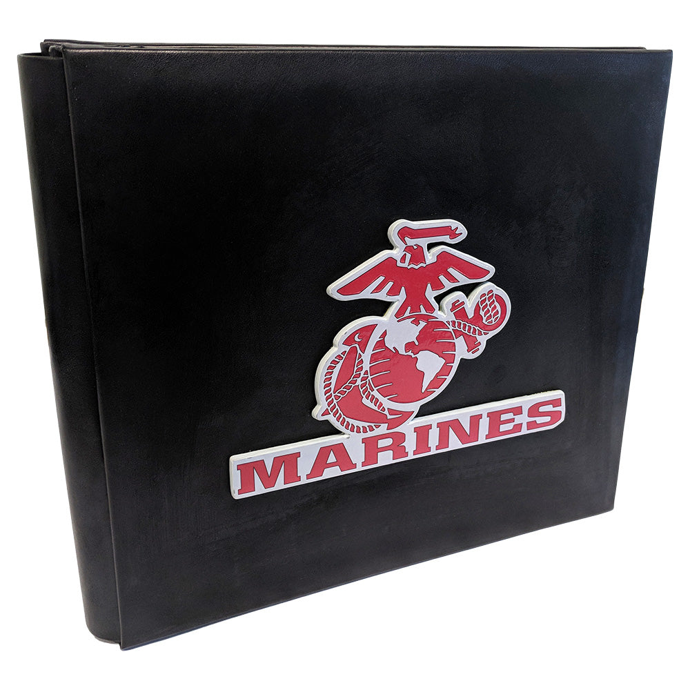 US MARINE 8x8 ALBUM W/ 3D LOGO - UNIFORMED®