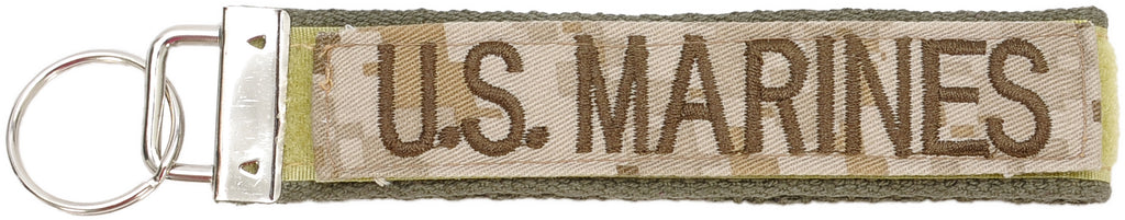 Marine Corps Branch of Service Key Chain - UNIFORMED®