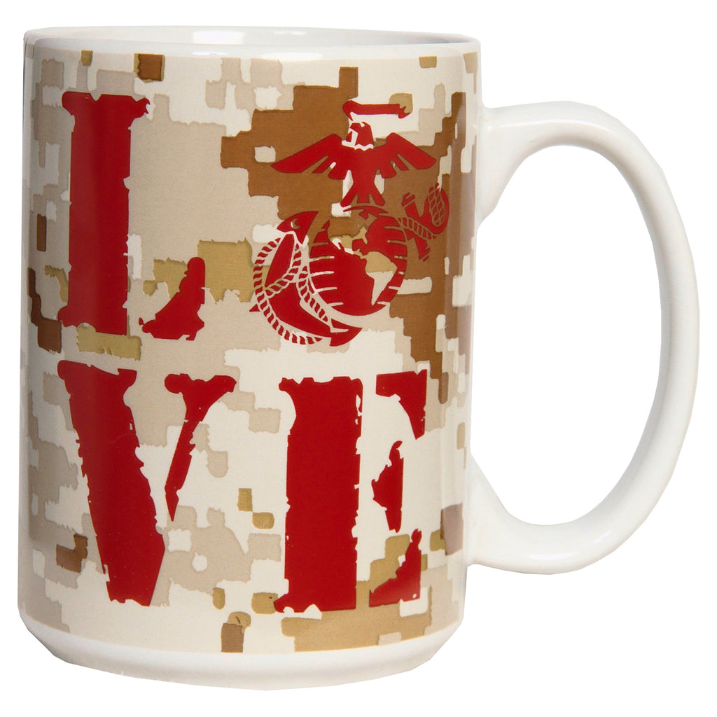15 OUNCE MARINE LOVE MUG - UNIFORMED®