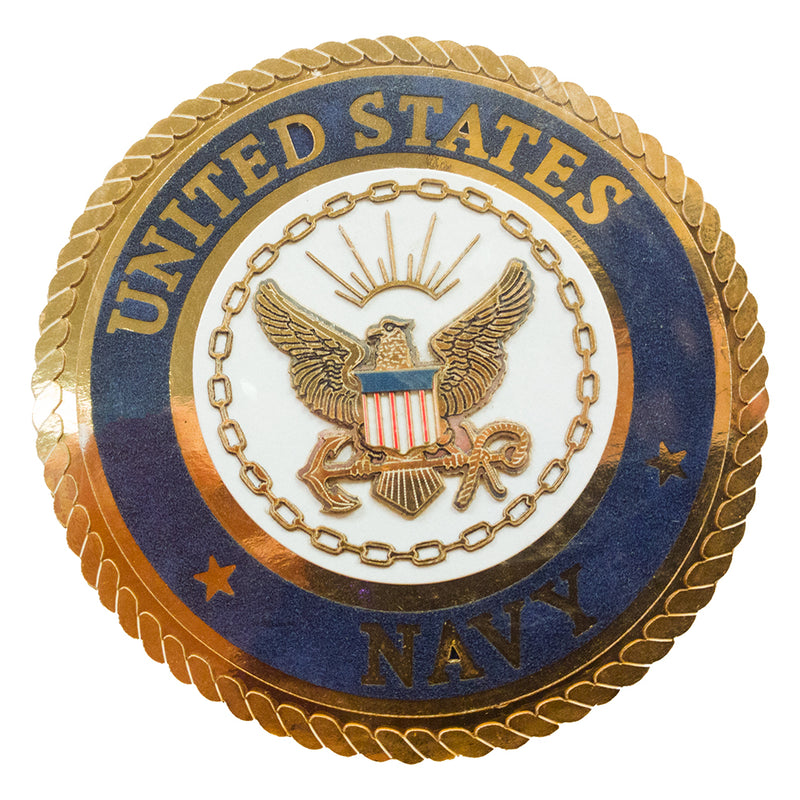 Navy Seal Paper Die Cut Emblem - UNIFORMED®
